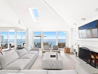 The Perfect Malibu Sandy Beachfront Villa