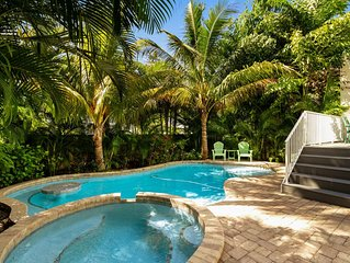 Gorgeous home w/ private heated pool, sun deck, & backyard