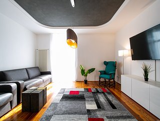 Stupendo appartamento di design in centro storico per 6 persone