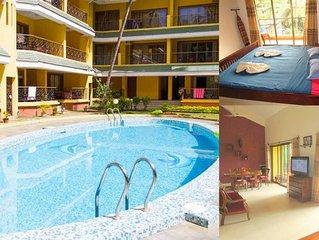06) Spacious luxurious penthouse apartment sleeps 7 & WiFi