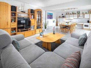 Ferienwohnung 1, 120 m² bis 6 Personen + 2 Kinder - Ferienhaus Platte