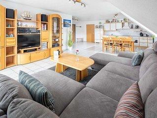 Ferienwohnung 3, 83 m² bis 4 Personen + 2 Kinder - Ferienhaus Platte