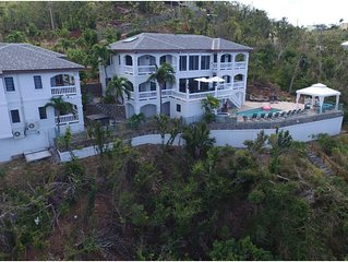 Beachfront Villa St John Steps to the water! Christmas Discounted