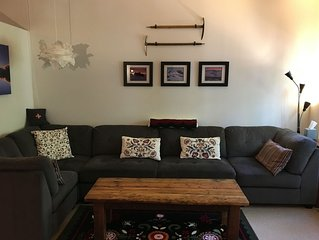 Cozy Creekside Condo in Government Camp Village.  No cleaning fees.