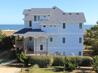 OCEANFRONT 8 Bedroom Estate, Pool, Hotub, Sleeps 21; Reserve 2021 week now.