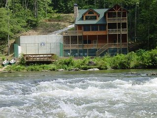 'Rocky River', is one of two'sister' Lodges on a N. Ga.Mountain River in Ellijay