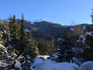 Whistler's Best Views and Ski-in/Ski-out Access to the Olympic Downhill