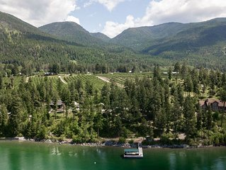 Secluded Cabins on Flathead Lake's East Shore