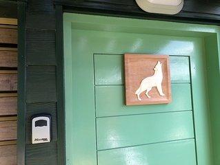 En Guadeloupe à Bouillante  Bungalow le Loup Blanc des Cabanes Perchées