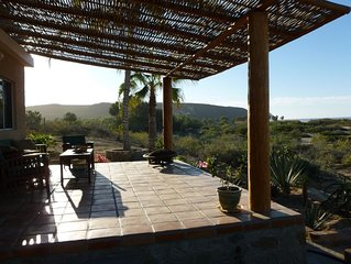 On The Beach In La Cachora, Minutes From The Village Of Todos Santos.