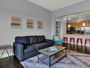 Roomy Downtown Charlotte 2Bed/2Bath Apartment