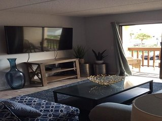 Ocean Side Complex  2 bed 2 bath with Heated Pool and Jacuzzi