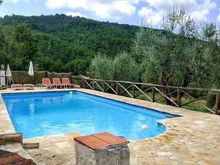 Villa Plus Detached Cottage, With Private Pool Set In 2 Acres Of Olive Groves