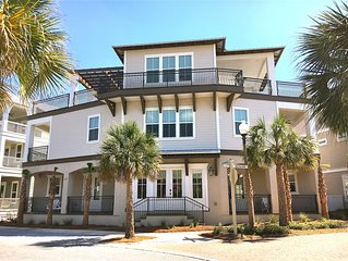 BRAND NEW! Family Traditions 30A—5 KING SUITES. 8 Bunks. Lagoon Pool. Gulf View.