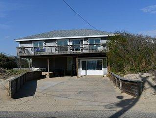 Semi-Oceanfront , 5 BR  Pet Friendly,  Pool, Hot Tub,  Ocean views, Clean!!