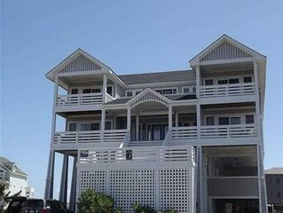 8 Bed Oceanfront Home Pool, Hot Tub, Theater, Game Room, Elevator, Free Wifi