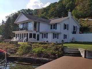 Beautiful Lakefront Home, Prime Location on Keuka Lake