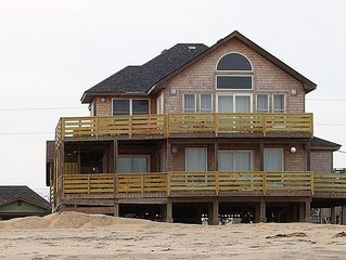 Beautiful Oceanfront cottage ...just walk out the door and you are on the beach.
