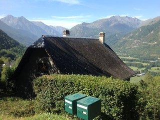 Superbe chalet récemment rénové avec vue panoramique à côté de Saint Lary Soulan