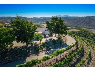 BEAUTIFUL VINEYARD PROPERTY WITH AMAZING VIEWS AND WHITH NEW POOL!!!