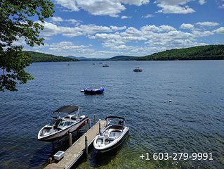 Beautiful Lake Winnipesaukee Waterfront on Meredith Bay