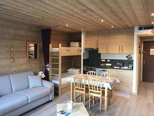Ce studio de 30 m² pour 4 personnes est très spacieux. Entièrement refait en 201