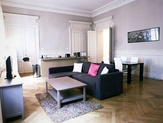Haussmann, appartement en  hyper centre