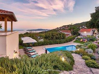 Luxury villa with pool near Opatija