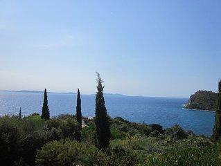 Villa - 4 chambres - Clim - Piscine - Vue s/mer - Calme
