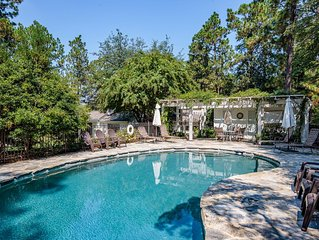 The Yellow Rose Cottage- 4BR/3BA and a Pool (Sleeps 8+) Village of Pinehurst