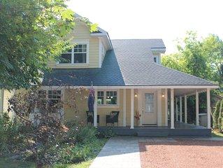 open concept, bbq / grill, wrap porch, garden oasis, wifi, parking