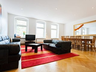 Großes maisonette Spiegel-Apartment
