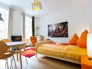 1stofMay Studio Apartment ##Nov. Dez. 2019 Baustelle im Hinterhof##