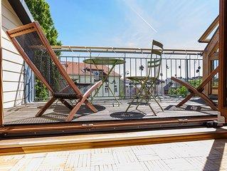 Skyloft 'Himmel über Berlin' maisonette Dachloft