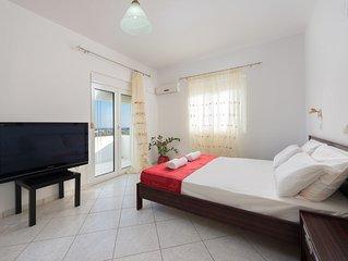 Wundervolles ruhiges Apartment mit Panoramablick über ganz Kolimpia