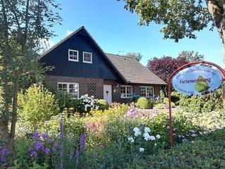 Ferienwohnung Gartentraum Friesland Varel Altjuhrden