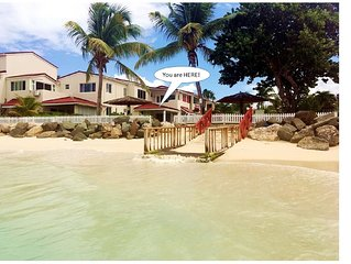 LITTLE BAY VILLA, 40 STEPS FROM THE CARIBBEAN SEA!