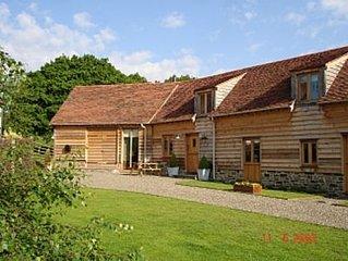 Church House Barn -  Recently Converted Oak & Stone Barn In The Shropshire Hills