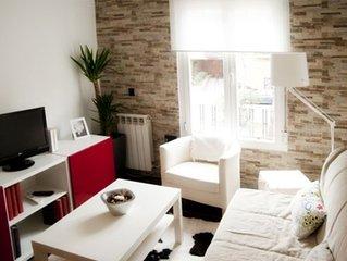 Fantástico apartamento  y muy acogedor en Madrid Río.WIFI gratis.