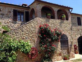 Casciano Di Murlo: Grande maison
