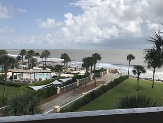 Beach Front Condo at Historic King and Prince Resort