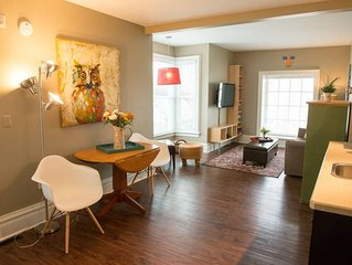 Modern Comfort in the Heart of Downtown Sturgeon Bay
