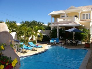 The magnificent Villa Kondelyabr with a pool in Flic en Flac.