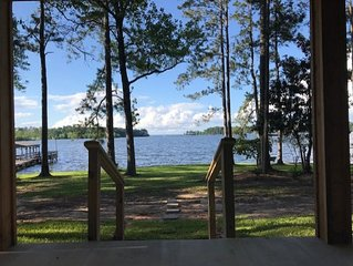 Waterfront with stunning views at Toledo Bend South