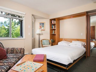 Cozy Studio in Whistler Village | Perfectly Located to Enjoy all that Whistler H
