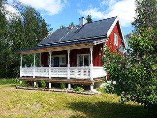 Ferienhaus Abborrtrask fur 4 - 7 Personen mit 2 Schlafzimmern - Ferienhaus