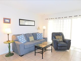 Q13  Two bedroom Two bath condominium.  Ground floor unit with queen and two tw