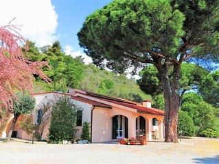 Villa Tosca con vista sul golfo di Marina di Campo