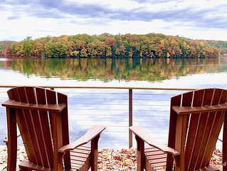Relax and unwind on tranquil Cossayuna Lake - You'll love it here!