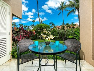 Homey Retreat w/Kitchen Ease, WiFi, AC, Lanai, Washer/Dryer–Kamaole Sands 6102